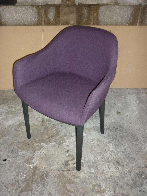 Purple Vitra Softshell chairs