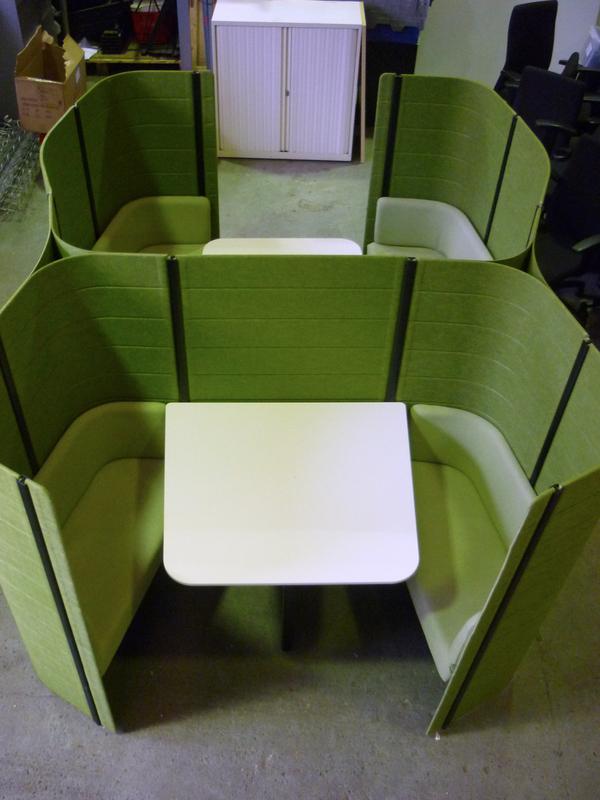 Green double Vitra Workbay
