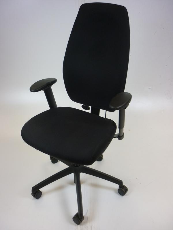 Black Posturite Positiv Plus High Back Ergonomic chair