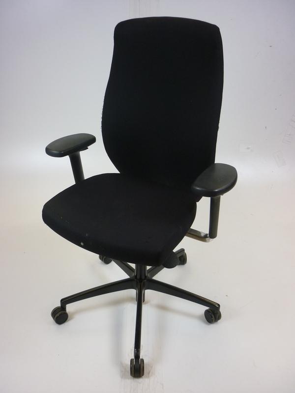 Black Komac One 24 hour task chair