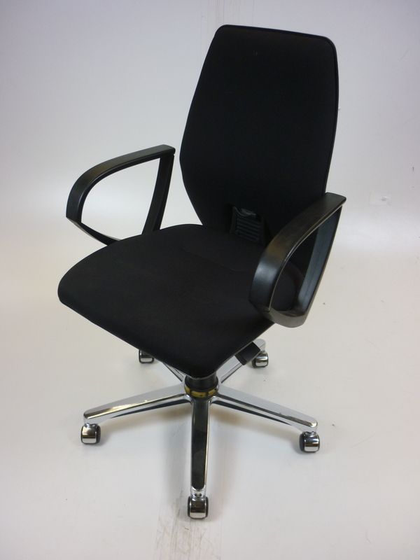 Black Sedus task chair
