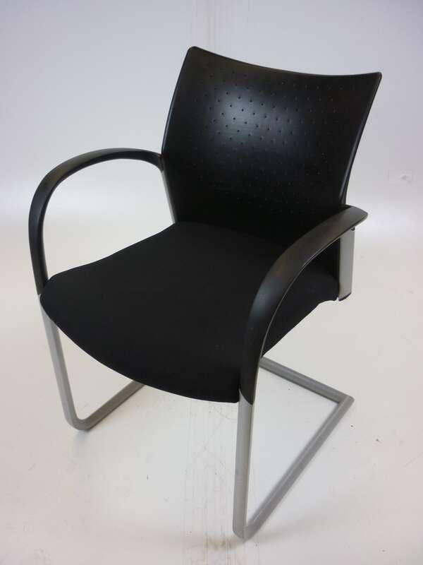 Senator Trillipse black plastic back meeting chairs