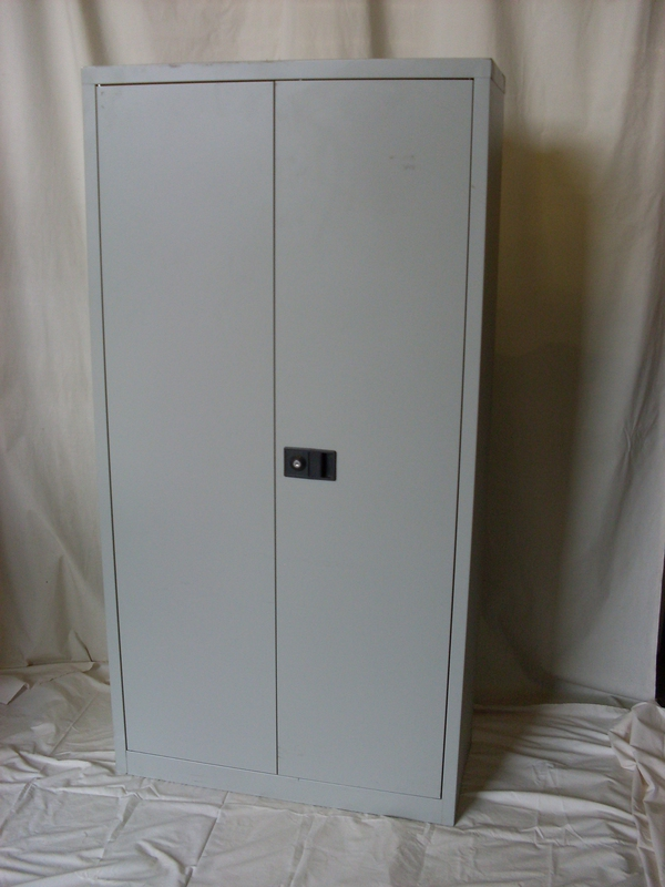 Bisley double door cupboard