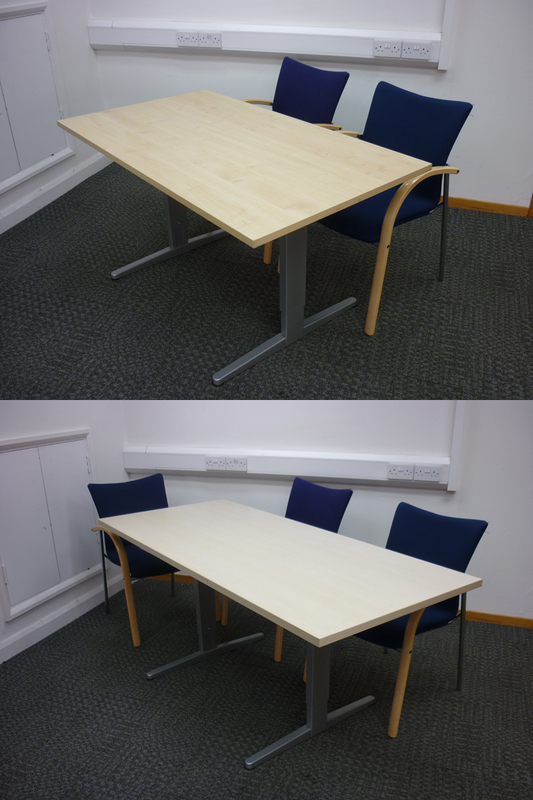 Sedus frame with NEW top up to 1800x1000mm
