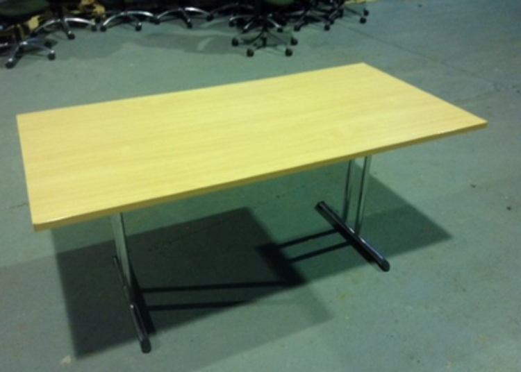 Beech folding tables