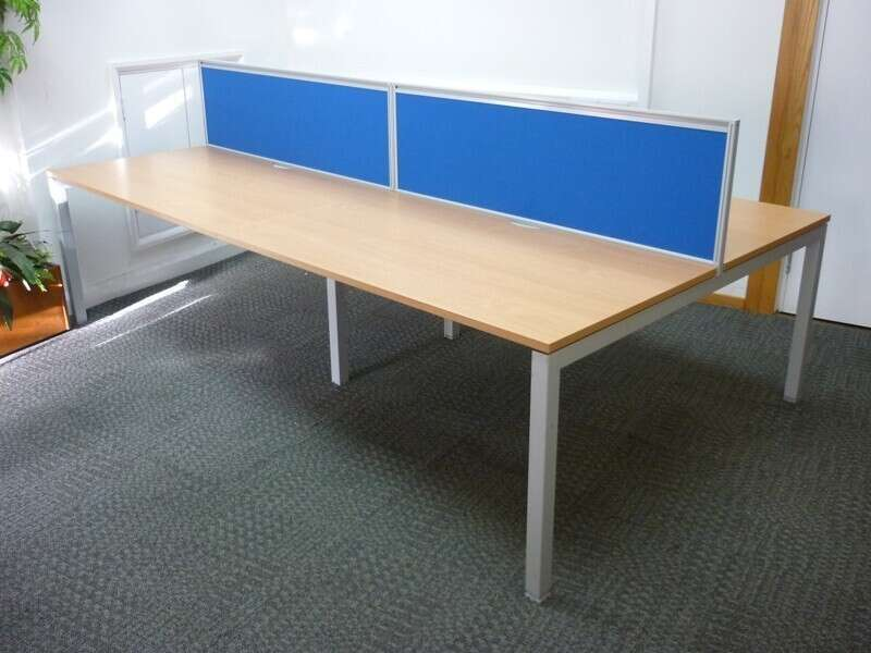 Senator beech 1400x800mm desks
