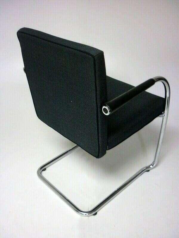 Vitra Visasoft Grey stacking chairs