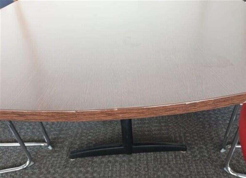 Walnut boardroom table
