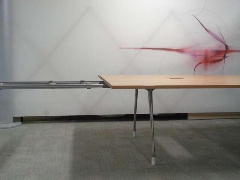 Oak Boardroom Table 4.3m