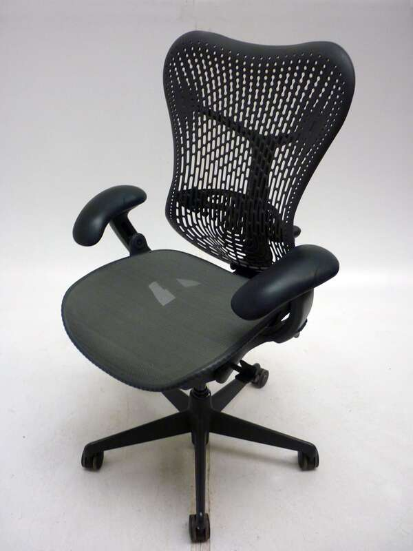 Herman Miller BlackGrey Mirra task chair