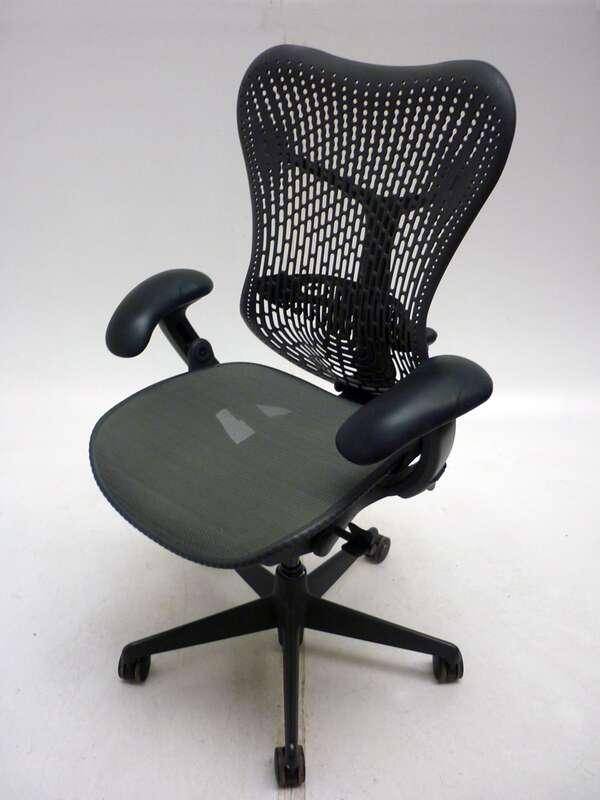 Herman Miller BlackGrey Mirra task chair