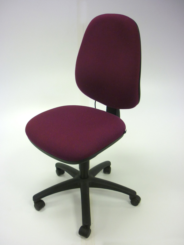 Purple Pledge Solar task chairs