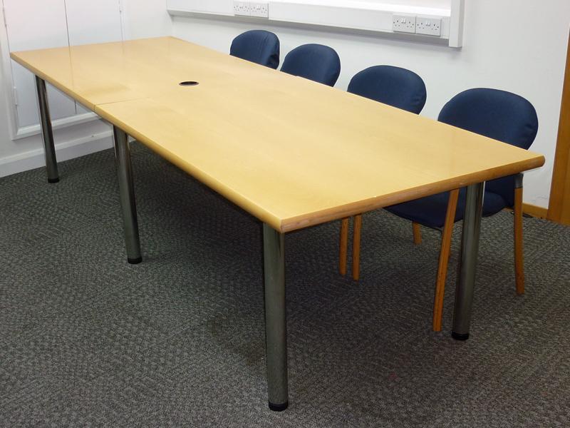 Beech 3000x1000mm table