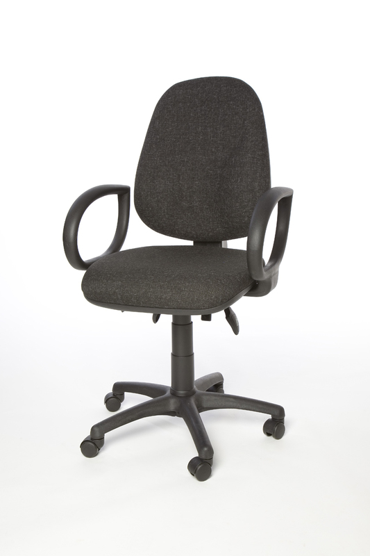 Charcoal Calypso operator chair