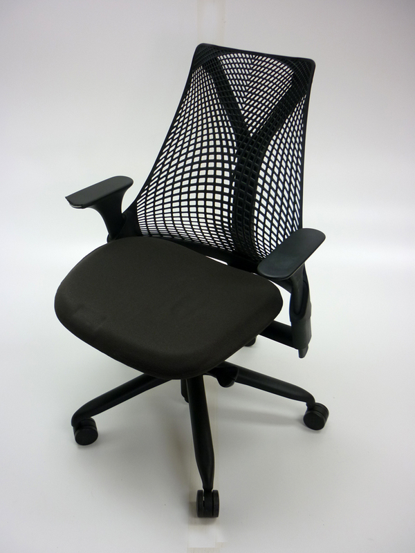 Herman Miller Sayl black task chair (CE)