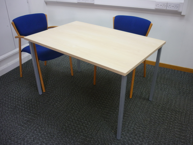 1200 x 800mm Maple meeting tables