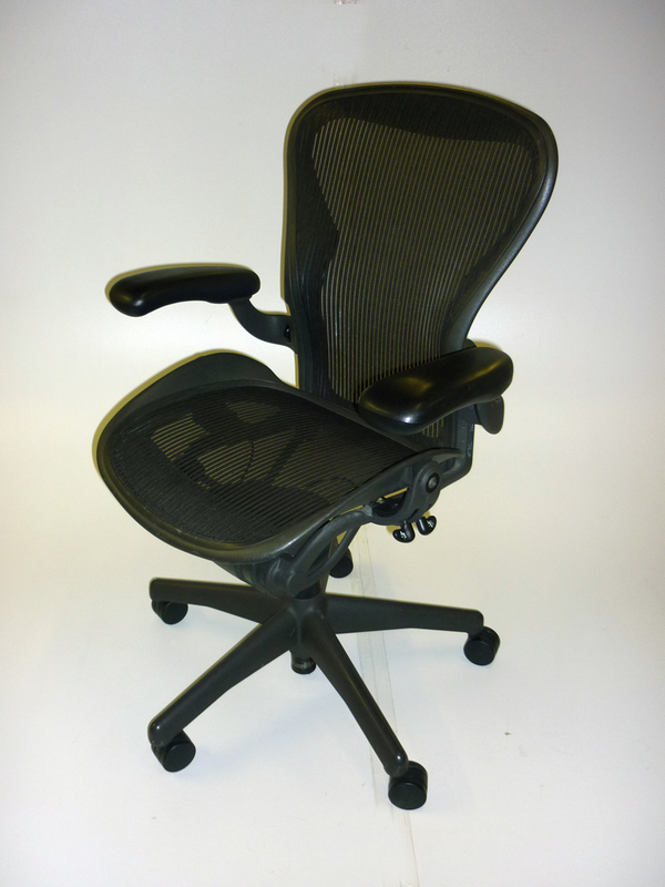 Herman Miller graphite Aeron task chair CE