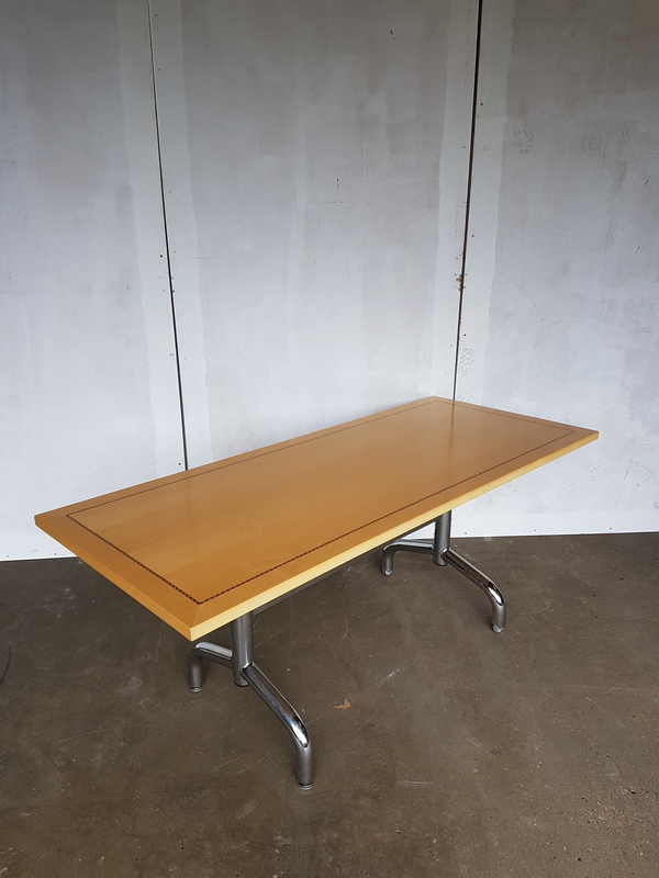 2400 x 1200mm Tula Rectangle Boardroom table CE