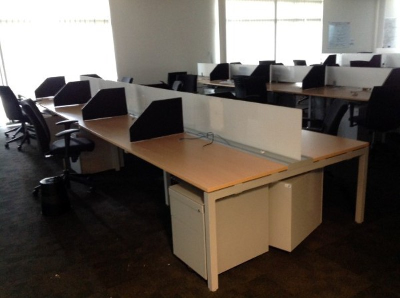 Haworth Tibas Bench Desking Desks Bench Systems