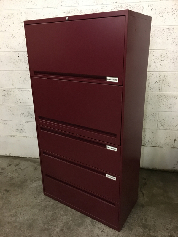 1750mm high Office Speciality combi storage
