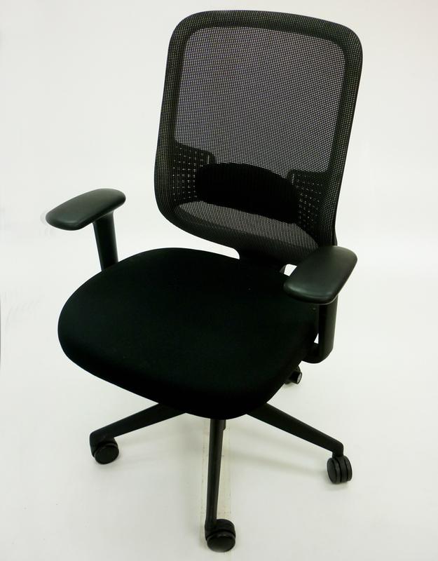 Orangebox DO black mesh task chair
