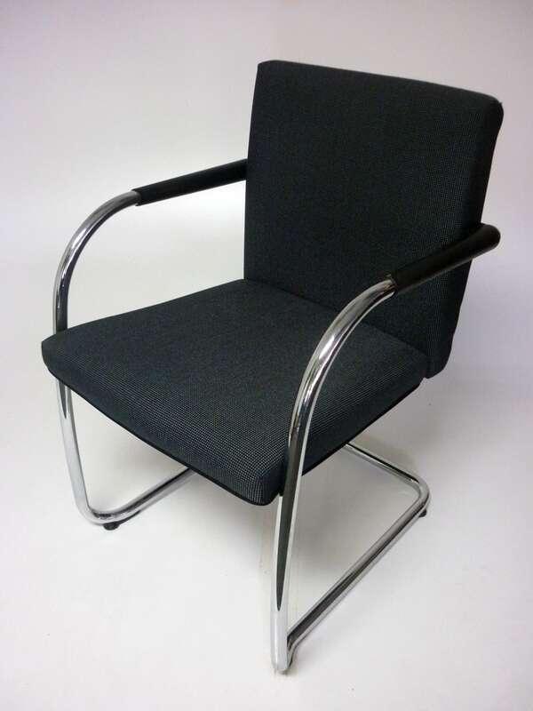 Vitra Visasoft blue stacking chairs
