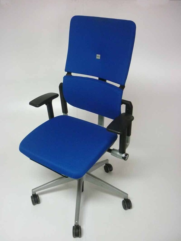Royal Blue Steelcase Please v2 task chair