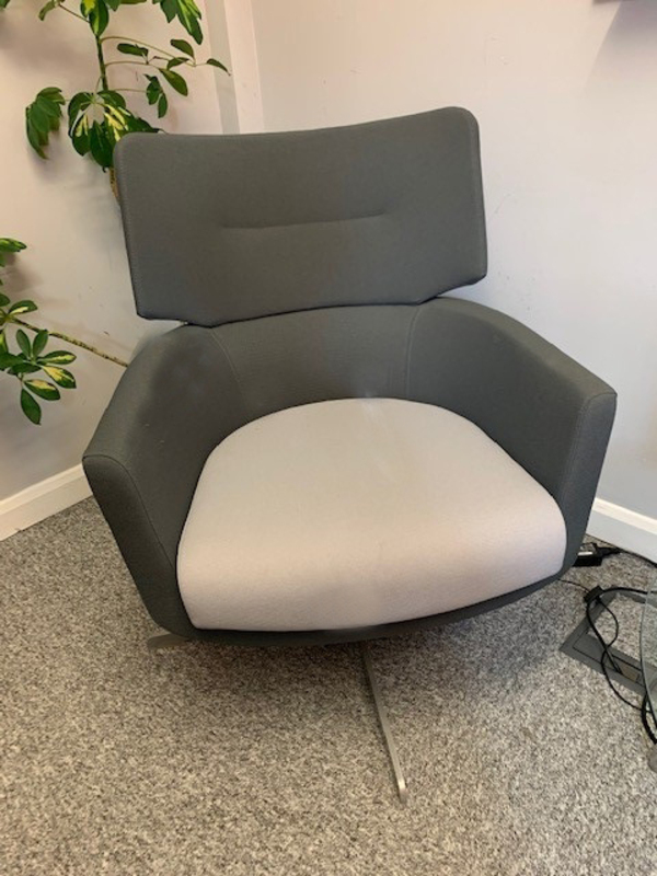 Grey 2 tone Connection Kala armchairs