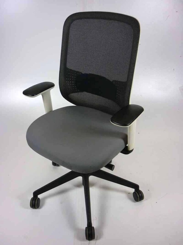 Light grey Orangebox Do mesh back task chairs