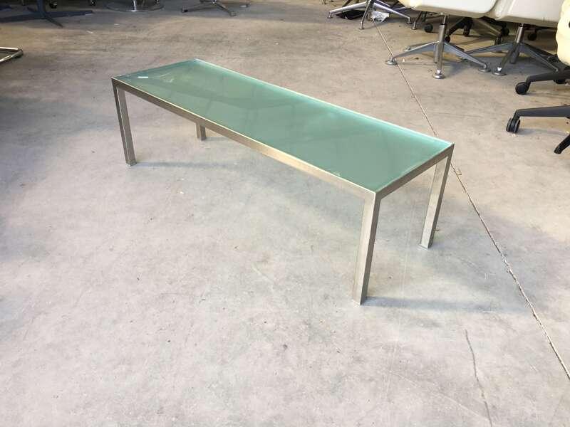 1200x400mm rectangular glass coffee table