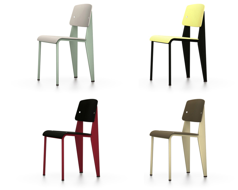 Vitra Standard SP chairs