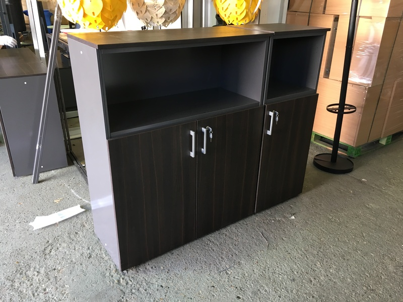 1250mm high wenge cupboard