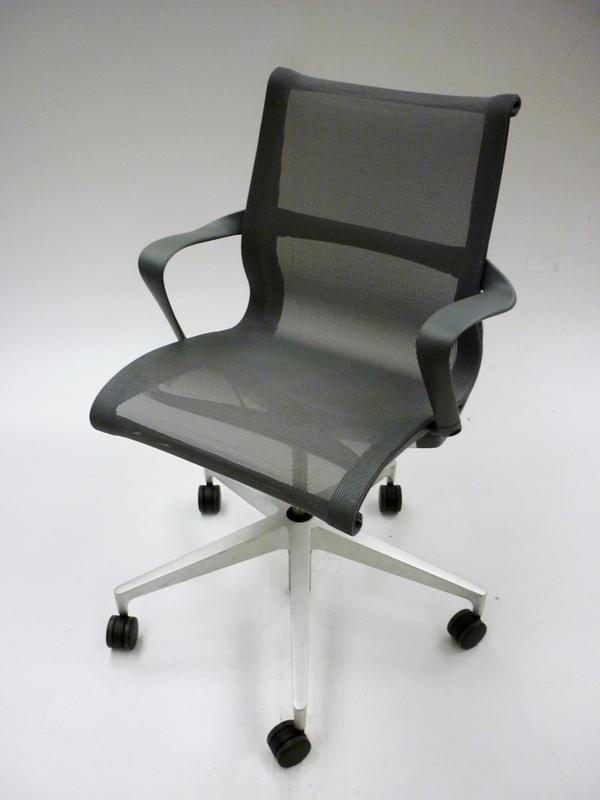 Graphite Herman Miller Setu task chair