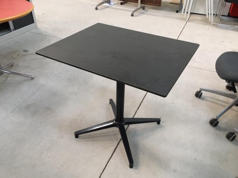 Black Vitra Bistro Table