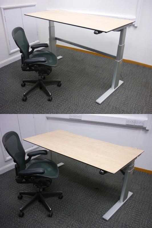 12001800mm Actiforce VL2 Series height adjustable desks