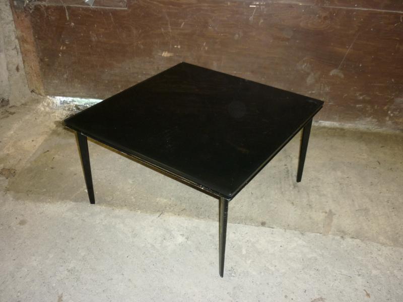 700x700mm black Walter Knoll Jaan 780 coffee table