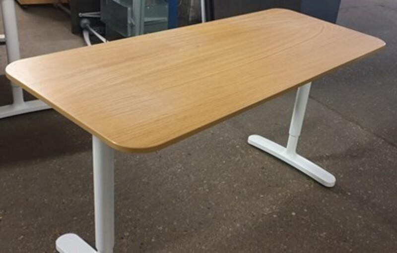 Height adjustable desk 1400w