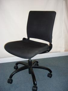 Black Verco V Smart task chairs