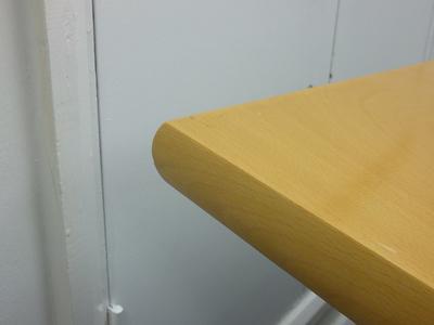 3000 x 1000mm beech veneer rectangular table