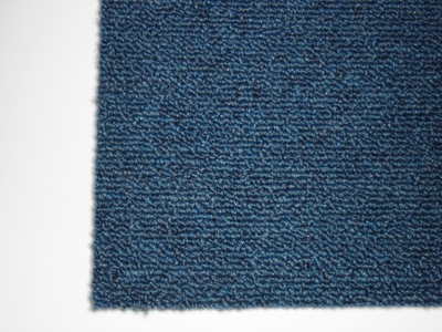 500w x 500d mm blue carpet tiles
