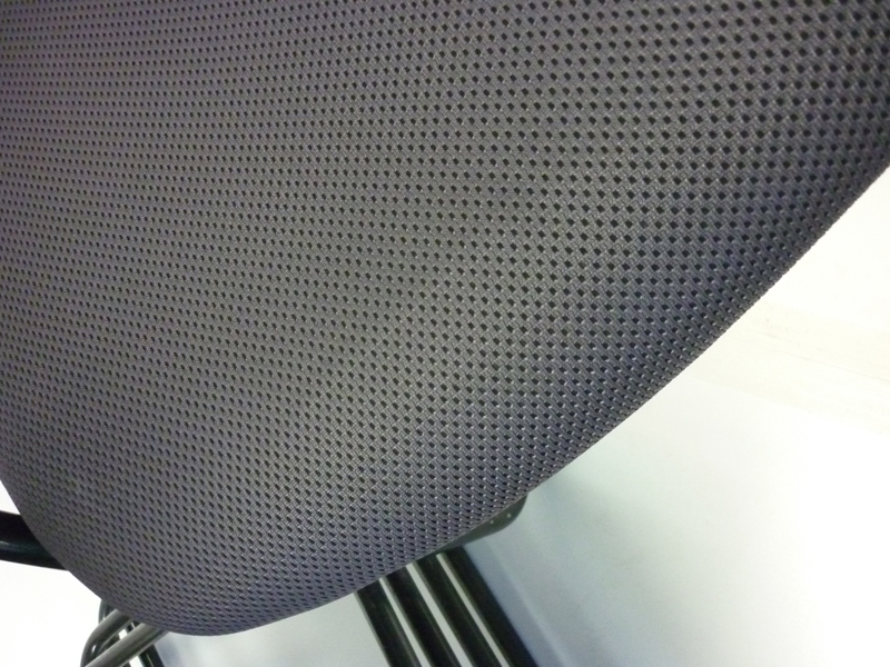Grey Orangebox X10 stackable meeting chairs (CE)