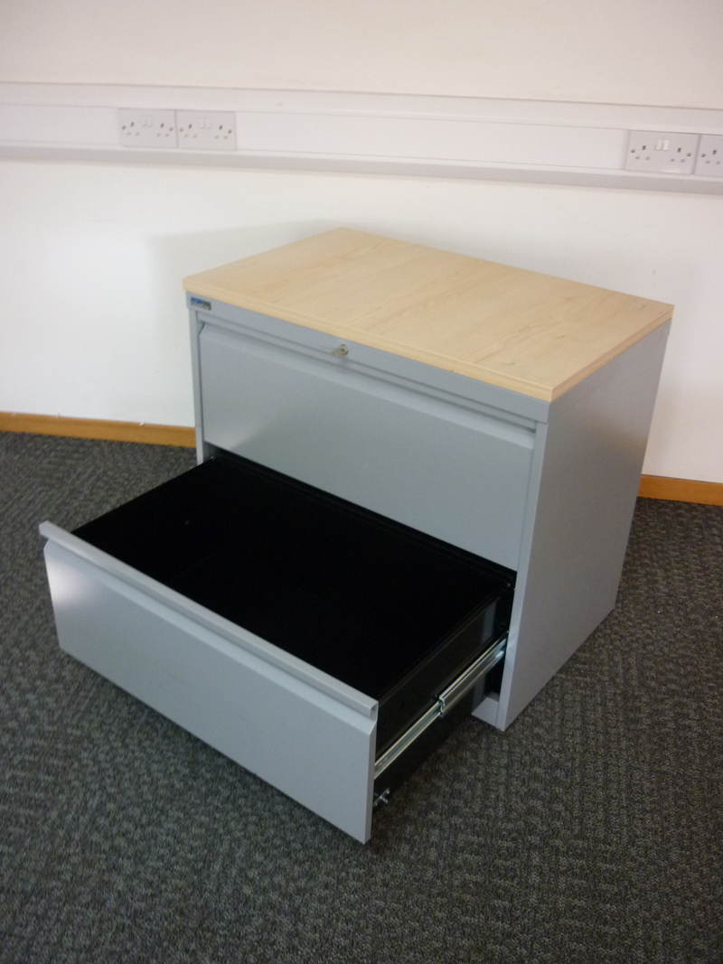Silverline two drawer side filer (CE)