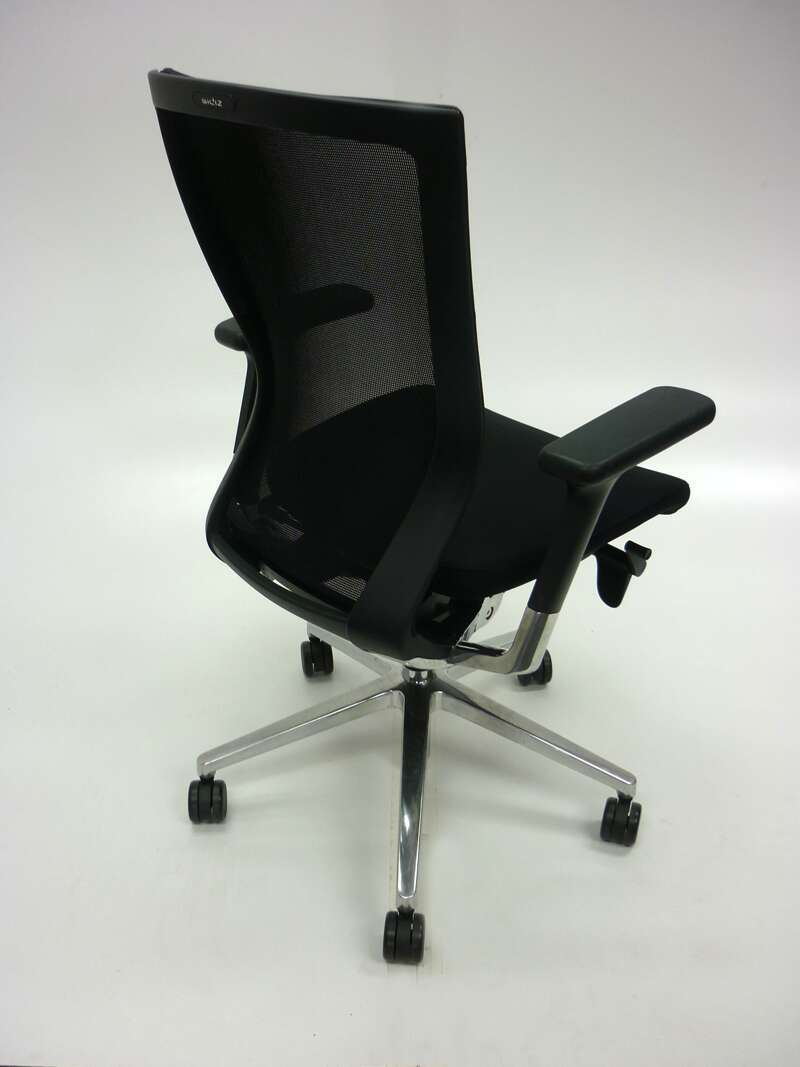 Black mesh back Sidiz task chair model T50