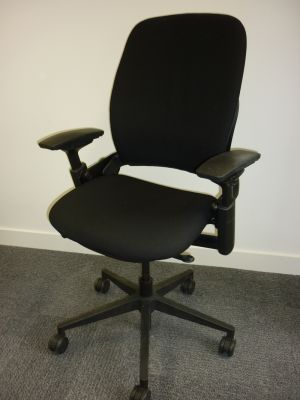 Steelcase Leap black task chair