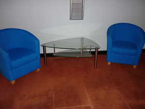 reception tub chairs
