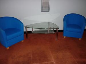 reception tub chairs