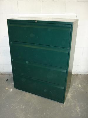Bisley 4 drawer side filer