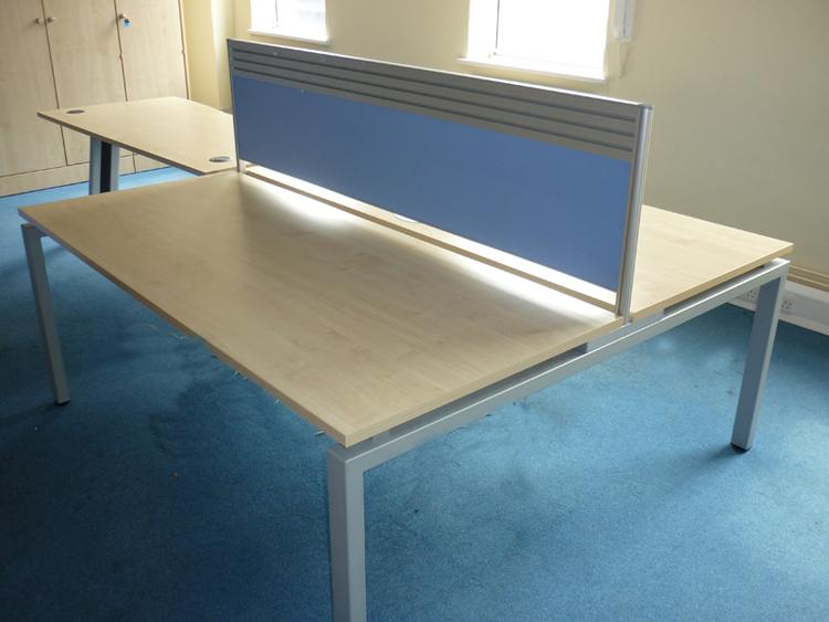 1800x1600mm Verco maple bench workstation