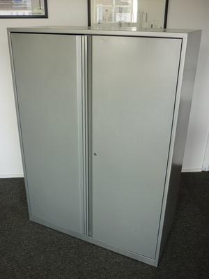Triumph 1380mm high double door cupboards