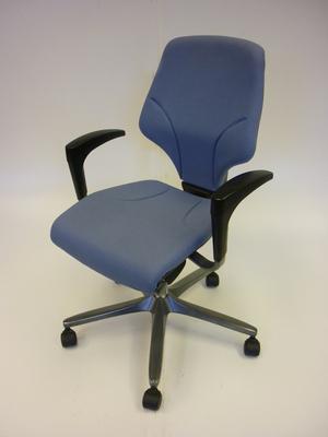 Giroflex light blue task chair